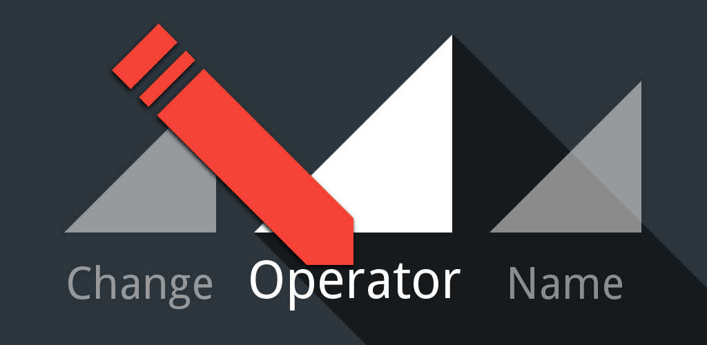 Change Operator Name Feature Graphic