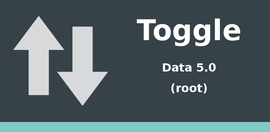 Toggle Data 5.0 Feature Graphic