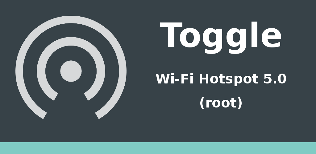 Toggle Wi-Fi Hotspot 5.0 Feature Graphic
