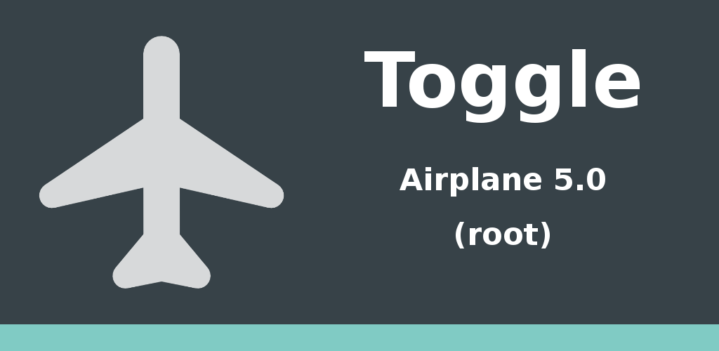 Toggle Airplane 5.0 Feature Graphic