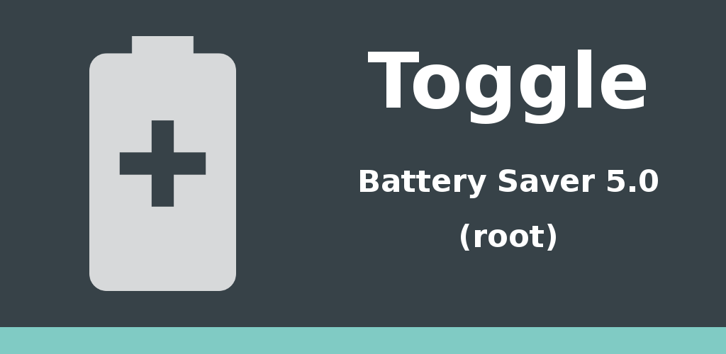 Toggle Battery Saver 5.0 Feature Graphic